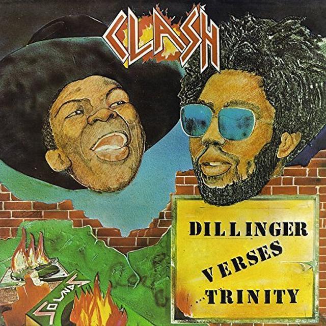 DILLINGER VERSES TRINITY CLASH Vinyl Record - UK Release