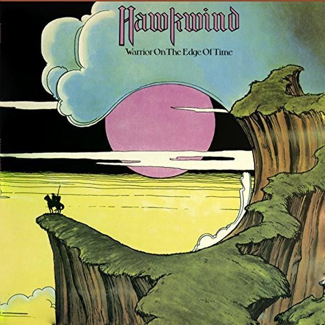 Hawkwind WARRIOR ON THE EDGE OF TIME Vinyl Record - UK Import