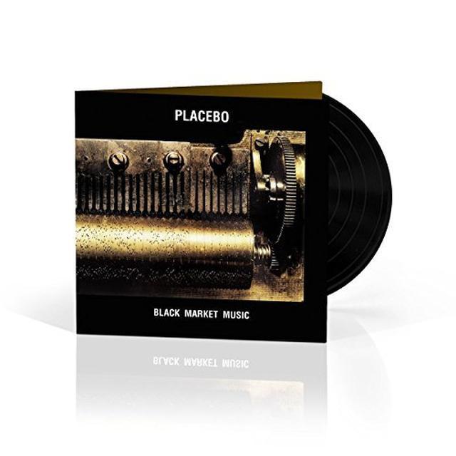 Placebo BLACK MARKET MUSIC Vinyl Record - UK Import