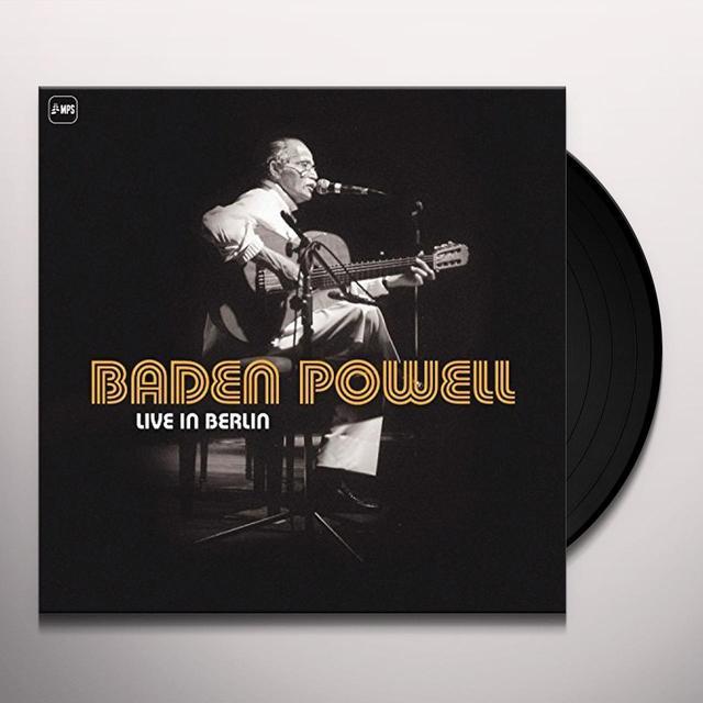 Baden Powell LIVE IN BERLIN Vinyl Record - UK Import
