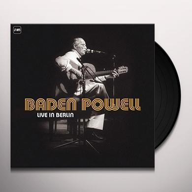 Baden Powell LIVE IN BERLIN Vinyl Record - UK Import