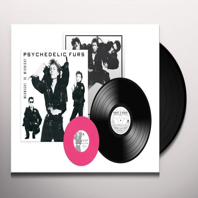 Psychedelic Furs MIDNIGHT TO MIDNIGHT Vinyl Record - UK Import