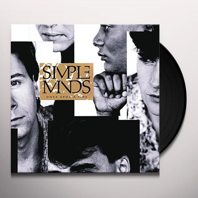 Simple Minds ONCE UPON A TIME Vinyl Record