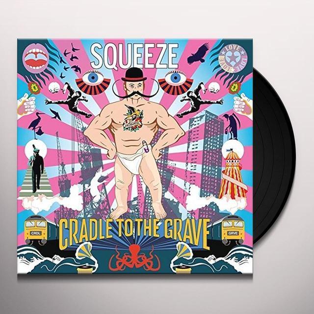 Squeeze CRADLE TO THE GRAVE (HK) Vinyl Record