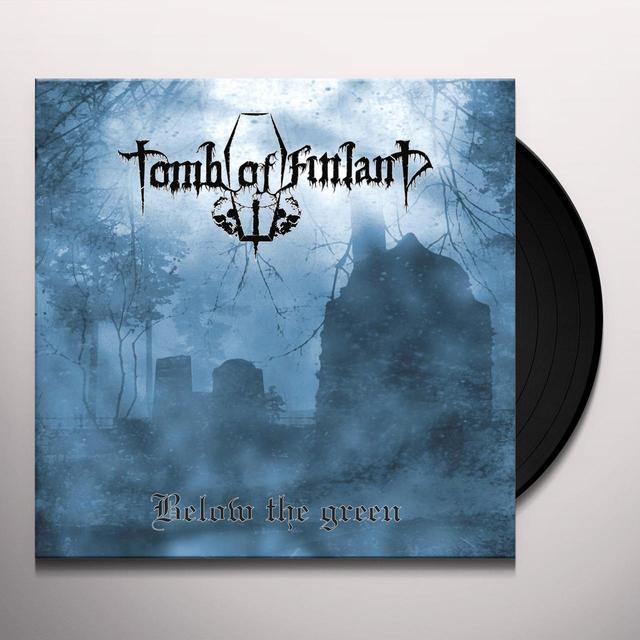 TOMB OF FINLAND BELOW THE GREEN Vinyl Record - UK Release