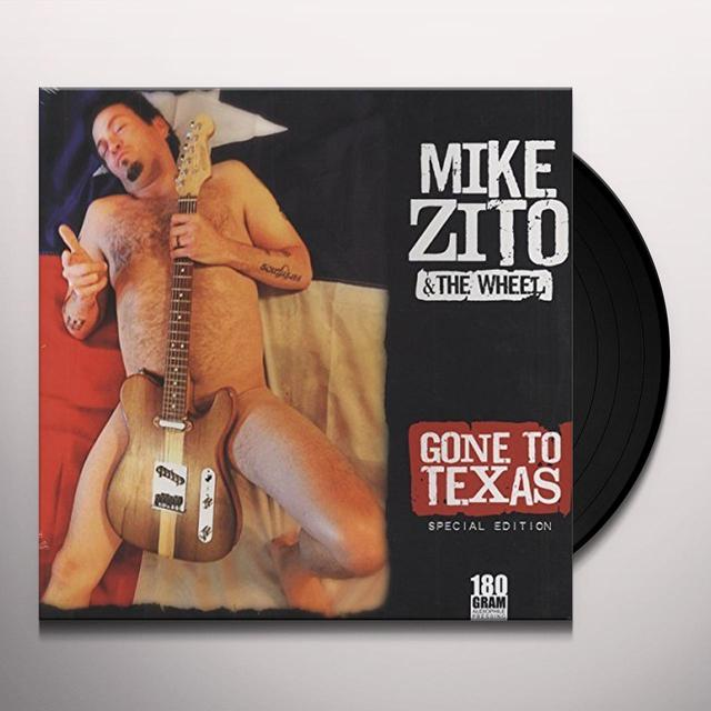 Mike Zito GONE TO TEXAS Vinyl Record - UK Import