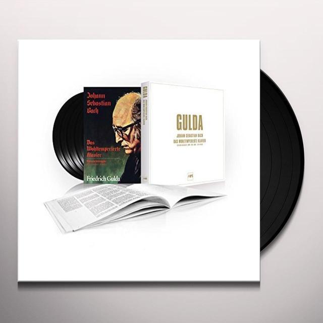 Friedrich Gulda WELL TEMPERED CLAVIER (BOX) Vinyl Record - UK Import