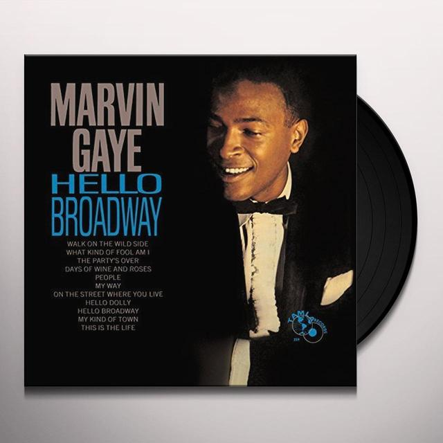 Marvin Gaye HELLO BROADWAY Vinyl Record - UK Import