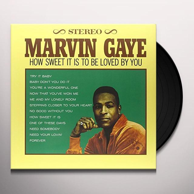 Marvin Gaye HOW SWEET IT IS TO BE LOVED BY YOU Vinyl Record - UK Release