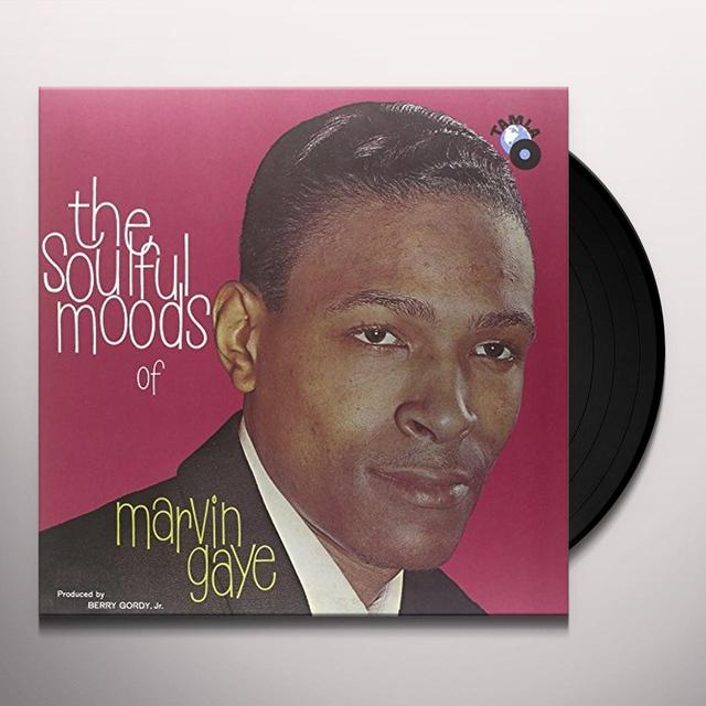 SOULFUL MOODS OF MARVIN GAYE Vinyl Record - UK Release