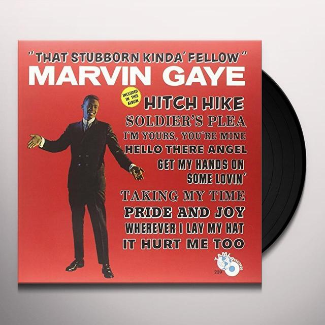 Marvin Gaye THAT STUBBORN KINDA FELLOW Vinyl Record - UK Release