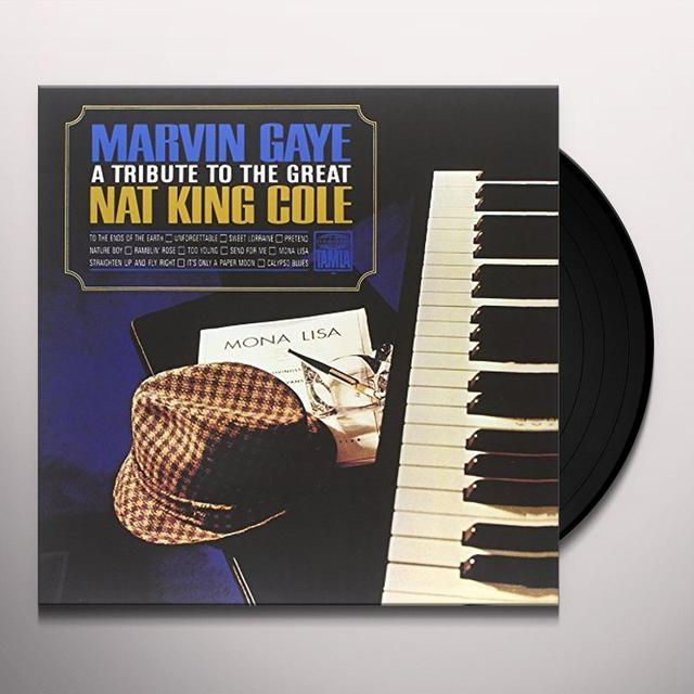 Marvin Gaye TRIBUTE TO THE GREAT NAT KING COLE Vinyl Record - UK Release