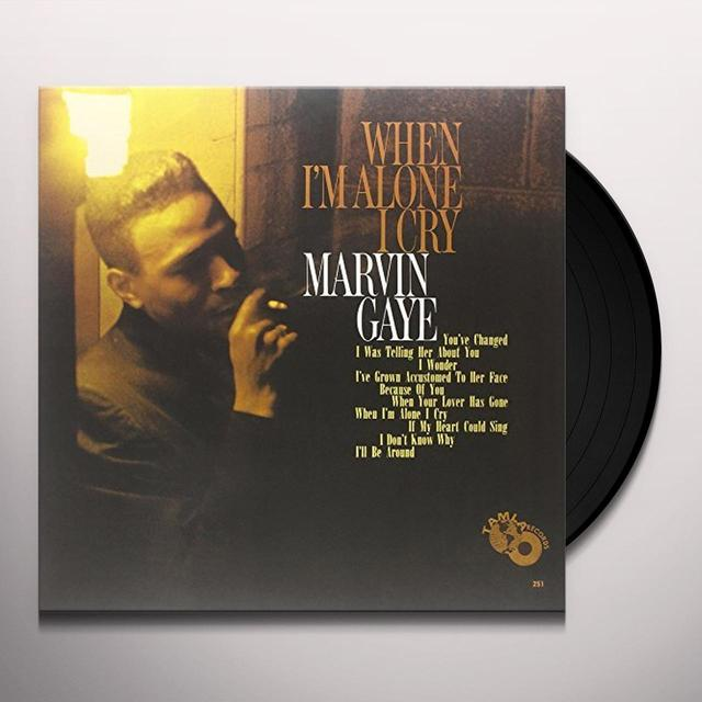 Marvin Gaye WHEN I'M ALONE I CRY Vinyl Record - UK Release
