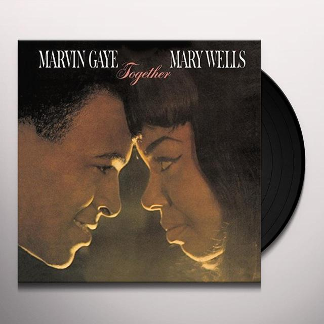 Marvin Gaye / Mary Wells TOGETHER Vinyl Record - UK Release