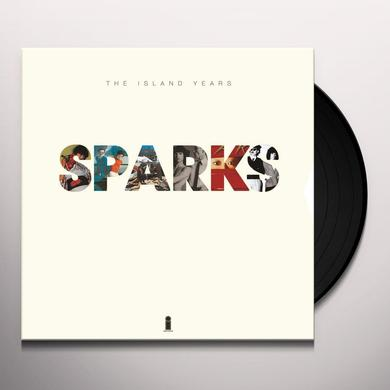 Sparks ISLAND YEARS Vinyl Record - UK Release
