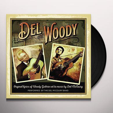 Del Mccoury DEL & WOODY Vinyl Record