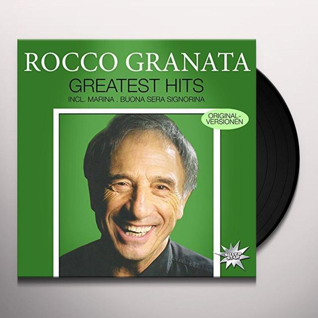 Rocco Granata GREATEST HITS Vinyl Record