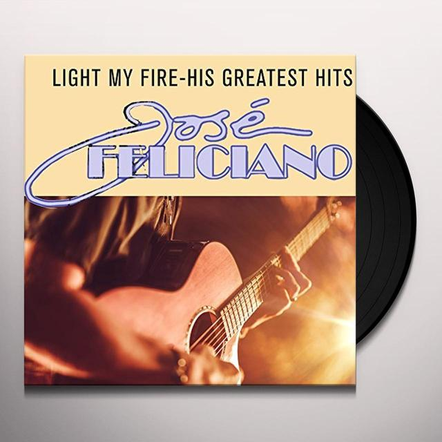 Jose Feliciano LIGHT MY FIRE-HIS GREATEST HIT Vinyl Record