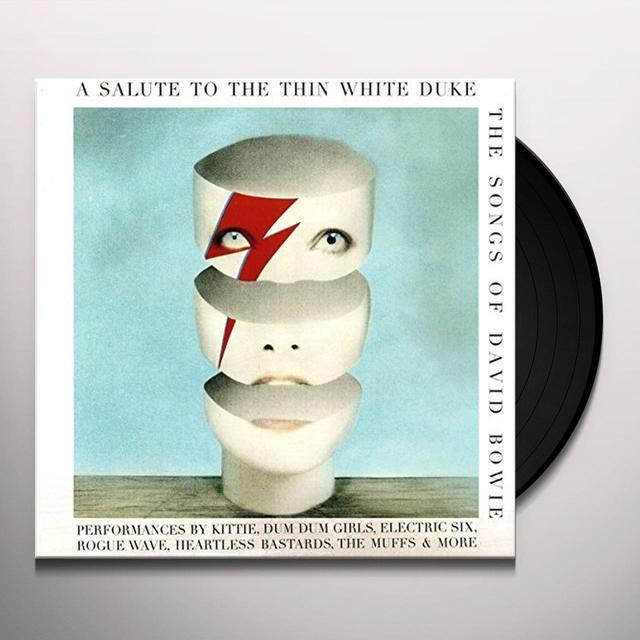 SALUTE TO THE THIN WHITE DUKE - THE SONGS OF / VAR Vinyl Record