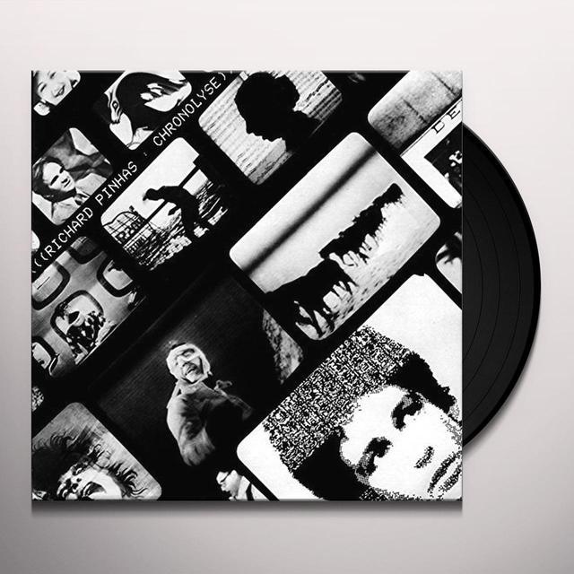 Richard Pinhas CHRONOLYSE Vinyl Record