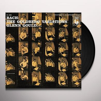 Glenn Gould GOLDBERG VARIATIONS (1955) Vinyl Record - Gatefold Sleeve, 180 Gram Pressing