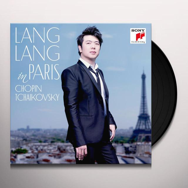 LANG LANG IN PARIS Vinyl Record - Gatefold Sleeve, 180 Gram Pressing