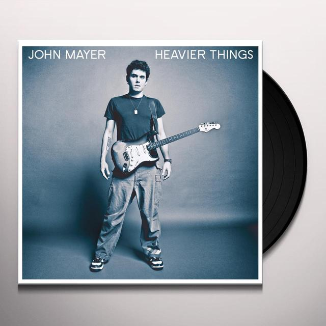 John Mayer HEAVIER THINGS Vinyl Record - 180 Gram Pressing