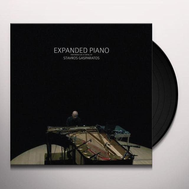 Stavros Gasparatos EXPANDED PIANO Vinyl Record