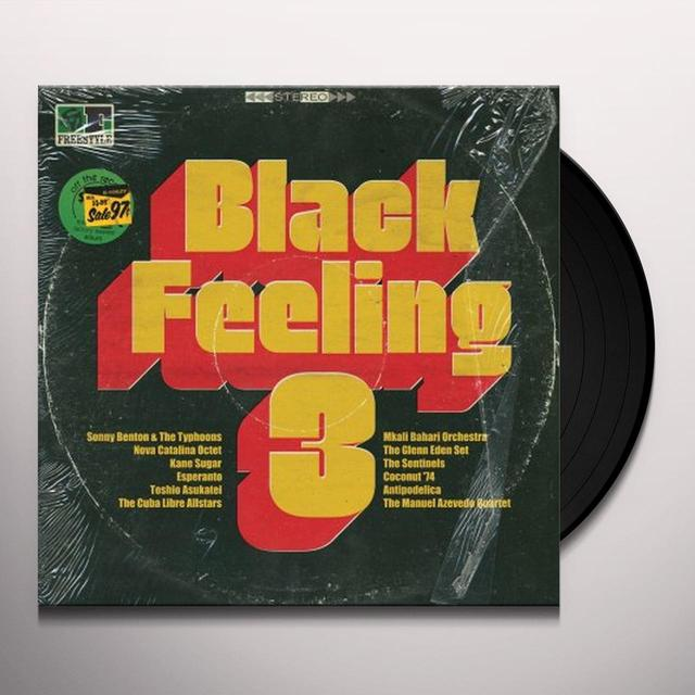 BLACK FEELING 3 / VARIOUS Vinyl Record