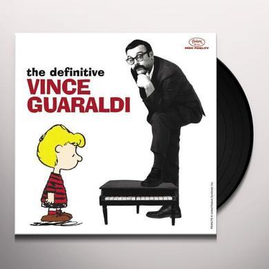 DEFINITIVE VINCE GUARALDI (BOX) Vinyl Record