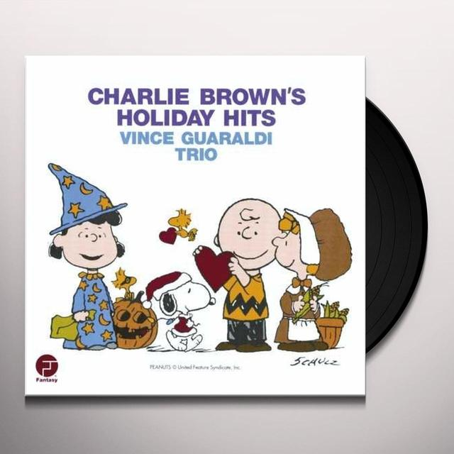 Vince Guaraldi CHARLIE BROWN'S HOLIDAY HITS Vinyl Record