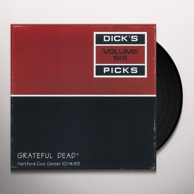 Grateful Dead DICK'S PICKS 6 Vinyl Record