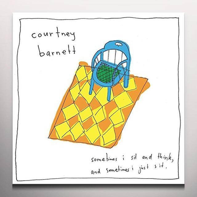 Courtney Barnett SOMETIMES I SIT & THINK & SOMETIMES I JUST Vinyl Record - Colored Vinyl