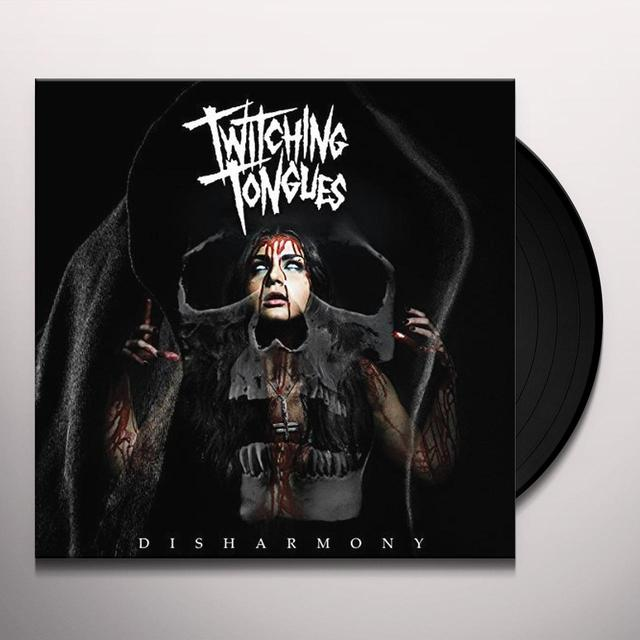 Twitching Tongues DISHARMONY Vinyl Record
