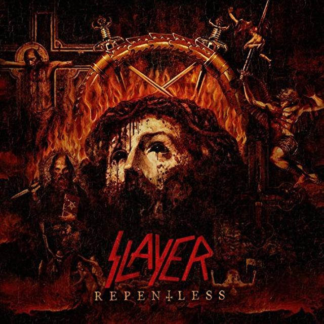 Slayer REPENTLESS BOX SET (W/DVD)  (WBR) Vinyl Record - Picture Disc, Poster