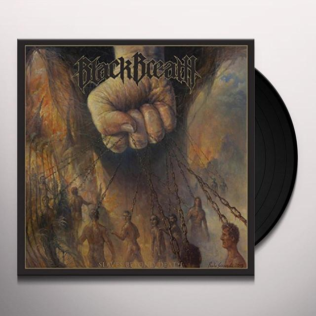 Black Breath SLAVES BEYOND DEATH Vinyl Record