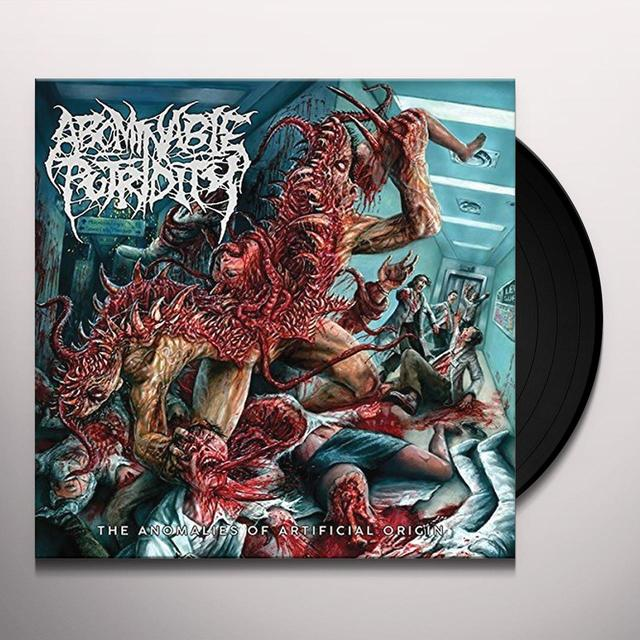 Abominable Putridity ANOMALIES OF ARTIFICIAL ORIGIN Vinyl Record