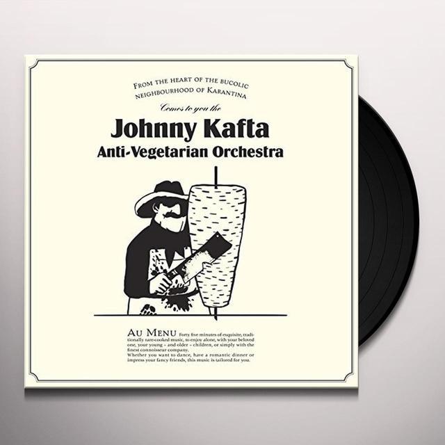 JOHNNY KAFTA ANTI-VEGETARIAN ORCHESTRA Vinyl Record