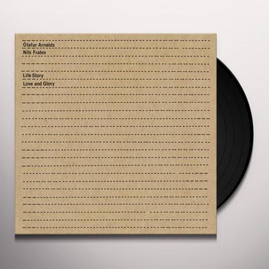 Ólafur Arnalds LIFE STORY LOVE & GLORY Vinyl Record