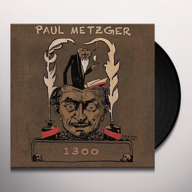 Paul Metzger 1300 Vinyl Record