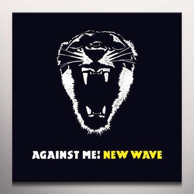 Against Me NEW WAVE Vinyl Record - Black Vinyl, Colored Vinyl, Limited Edition, Yellow Vinyl