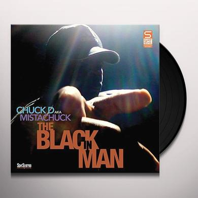 CHUCK D AKA MISTACHUCK BLACK IN MAN Vinyl Record