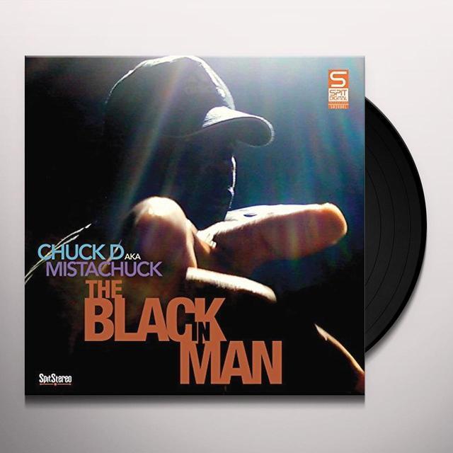 CHUCK D AKA MISTACHUCK BLACK IN MAN Vinyl Record