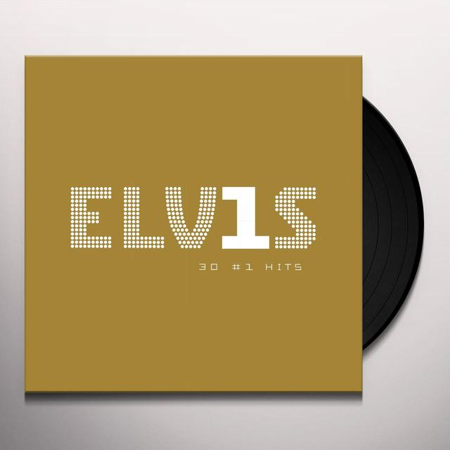 ELVIS 30 #1 HITS Vinyl Record - 180 Gram Pressing