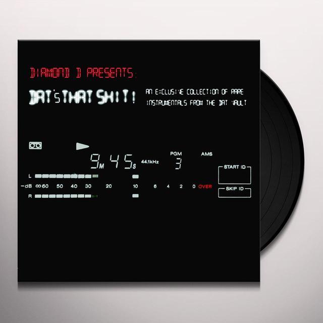 DIAMOND D DAT'S THAT SHIT Vinyl Record