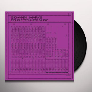 Giovanni Marks DOUBLE TECH JEEP MUSIC Vinyl Record - 10 Inch Single
