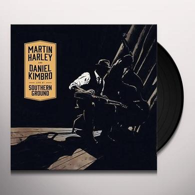 Martin Harley and Daniel Kimbro LIVE AT SOUTHERN GROUND Vinyl Record