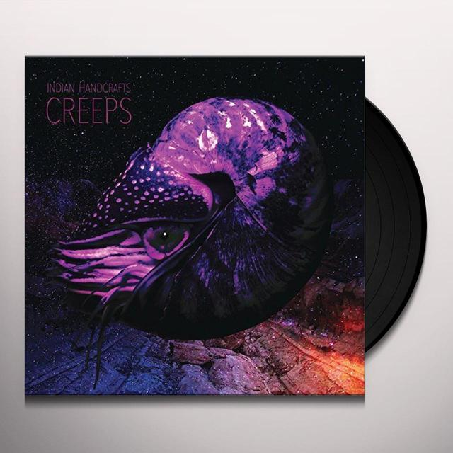 Indian Handcrafts CREEPS Vinyl Record - Digital Download Included