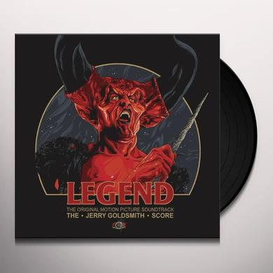 Jerry Goldsmith LEGEND / O.S.T. Vinyl Record - Black Vinyl, Gatefold Sleeve, 180 Gram Pressing, Special Edition