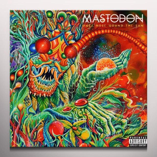 Mastodon ONCE MORE ROUND THE SUN Vinyl Record - Colored Vinyl